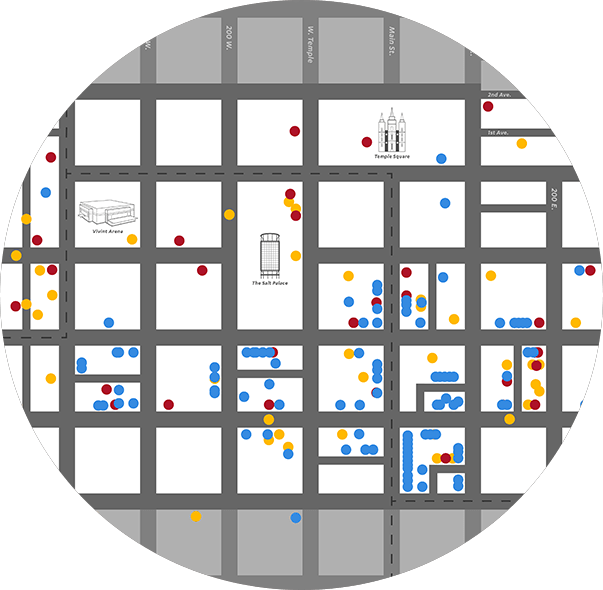 Interactive Map of Downtown Salt Lake City | The Blocks