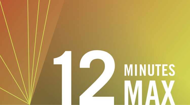 12 Minutes Max: a Monthly Showcase of Short Works by Local Artists
