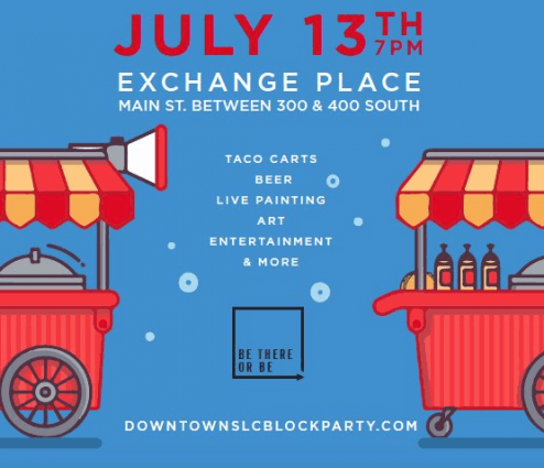 Downtown SLC Block Party