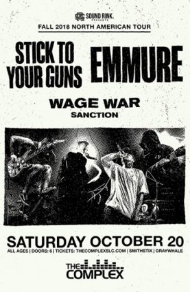 Stick To Your Guns @ The Complex