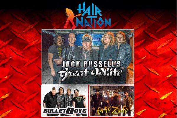 SiriusXM Hair Nation Tour 2018