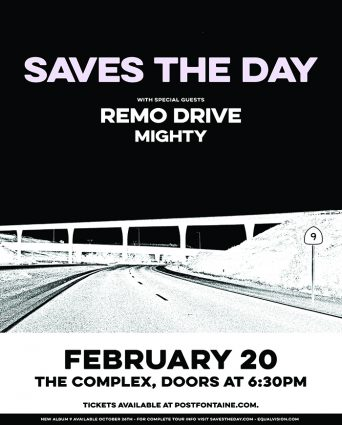 Saves The Day @ The Complex