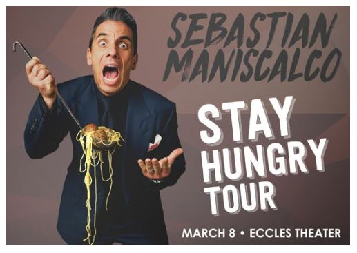 Sebastian Maniscalco: Stay Hungry Tour — The Blocks SLC