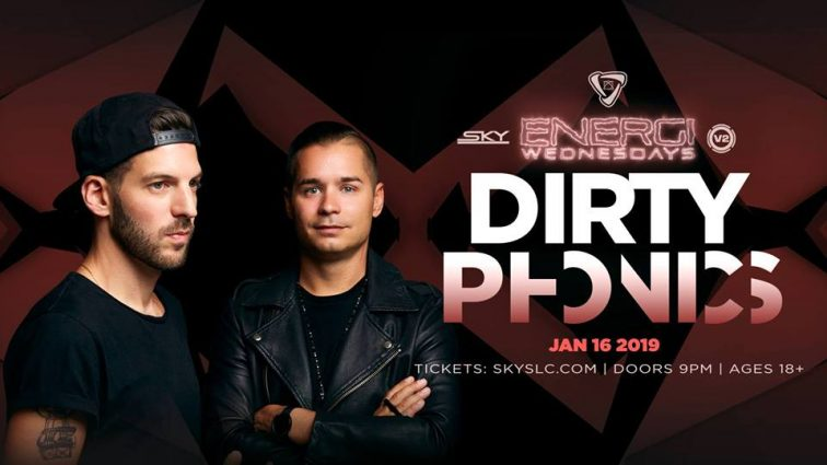 Energi Wednesday: Dirtyphonics (18+)