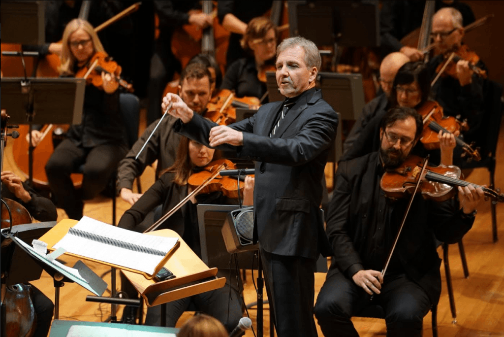 Thierry Fischer with the utah symphony