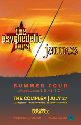 The Psychedelic Furs + James @ The Complex