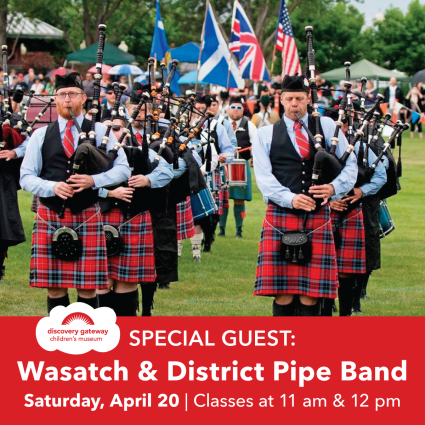 Special Guest: Wasatch & District Pipe Band