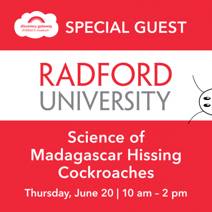 Special Guest: Redford University | Madagascar Hissing Cockroaches