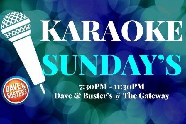 Karaoke Sundays at Dave & Buster's