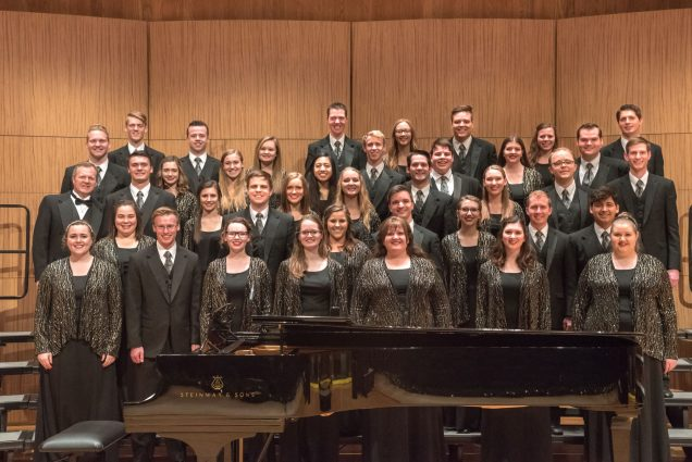"BYU-Idaho Collegiate Singers ""You Are Not Alone"""
