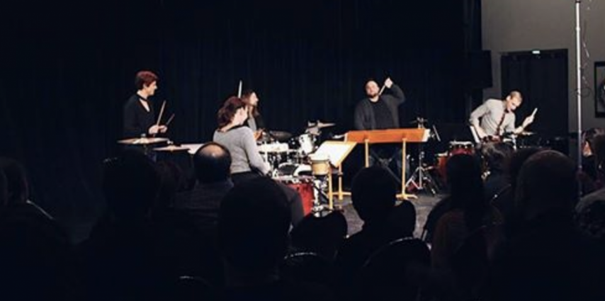 Cinq Percussion Plays works by Salty Cricket Composers