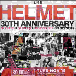Helmet - 30th Anniversary Tour
