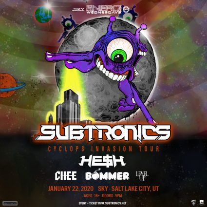 Subtronics Cyclops Invasion - Salt Lake City