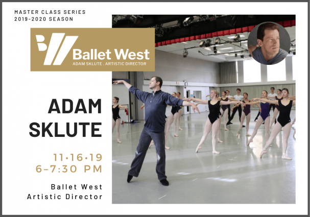 Master Class with Ballet West Artistic Director