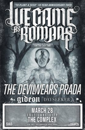 **POSTPONED** We Came As Romans @ The Complex