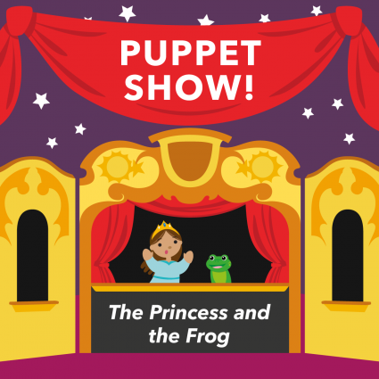 Puppet Show | The Princess and the Frog