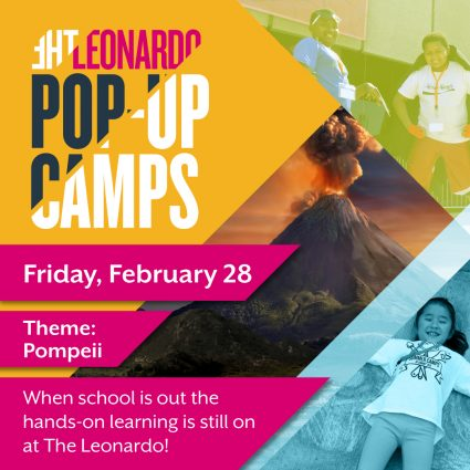 The Leonardo Pop-Up Camps