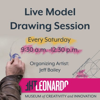 Live Model Drawing Sessions -CANCELLED