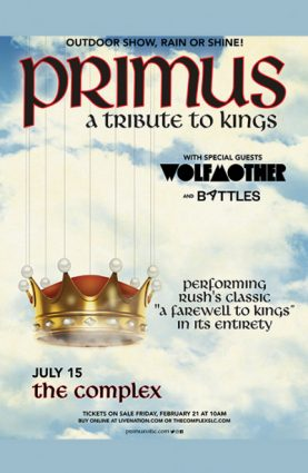 Postponed: Primus @ The Complex