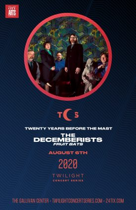 2020 Twilight Concert Series: The Decemberists- CANCELLED