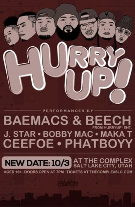 HurryUP! @ The Complex