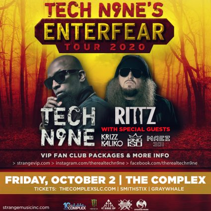 Tech N9NE: Enterfear Tour 2020 (New Date)