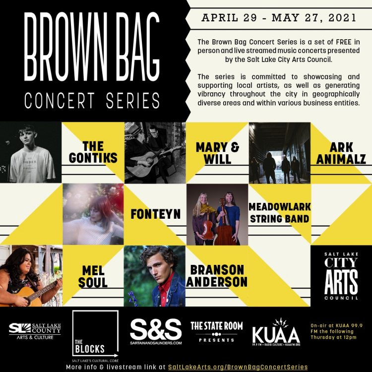 Brown Bag Concert Series 2021